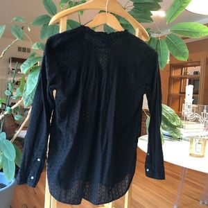 J. Crew Tops - Women's Point Sur Ruffle Classic Popover Shirt